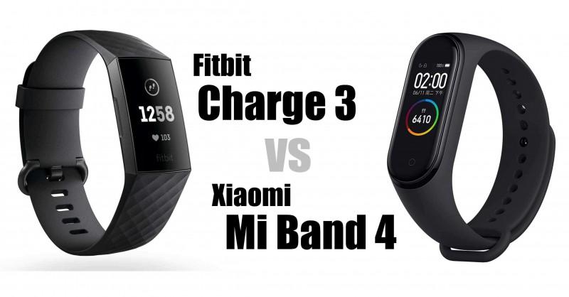 Fitbit Charge 3 vs Xiaomi Mi Band 4 - Welcher ist besser?