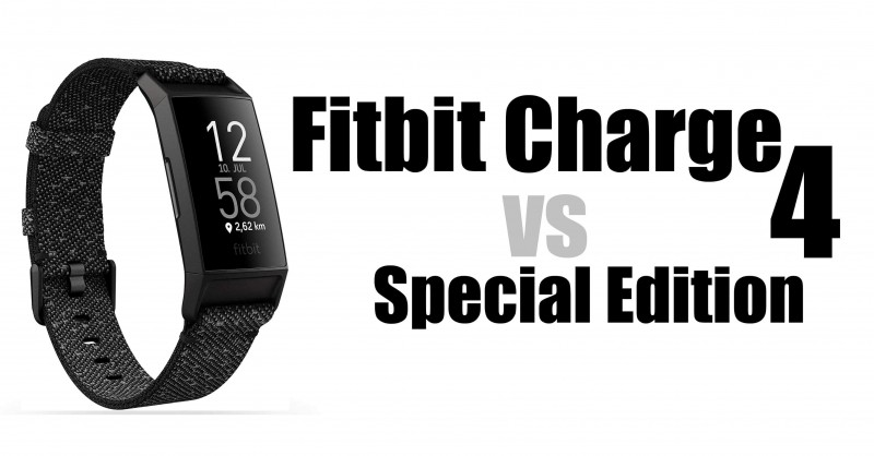 Fitbit Charge 4 vs Special Edition - Wo ist der Unterschied?