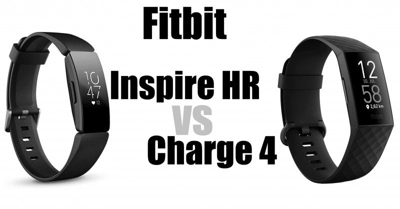 Fitbit Inspire HR vs Charge 4 - Which one is better?