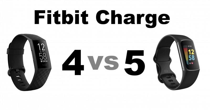 Fitbit Charge 4 vs 5 - Wo sind die Unterschiede?