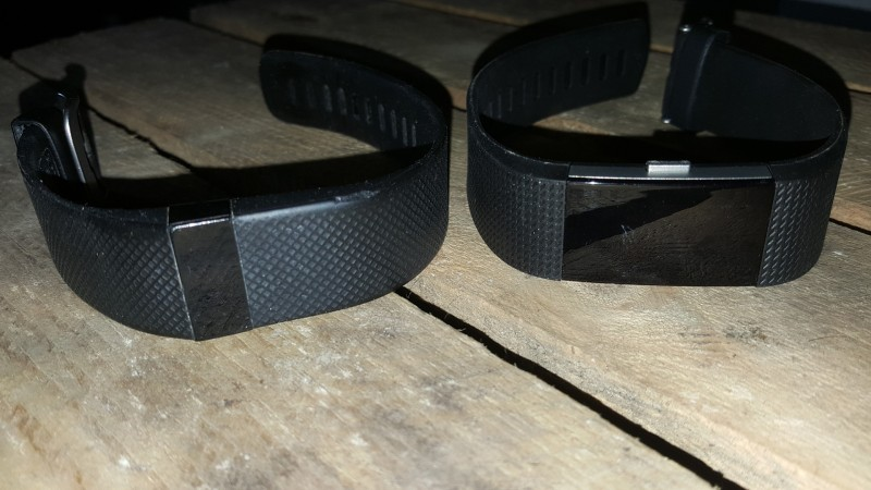 Fitbit Charge HR vs. Fitbit Charge 2