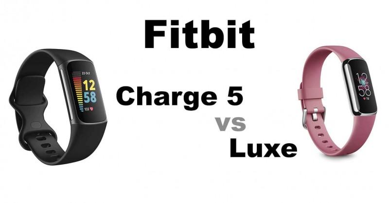 Fitbit Charge 5 vs luxe - Welcher ist besser?