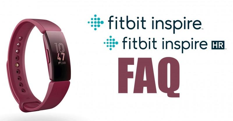 Fitbit Inspire & Inspire HR - Fragen & Antworten | FAQ