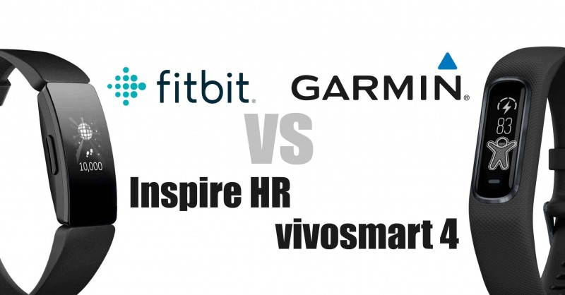 Fitbit Inspire HR vs Garmin vivosmart 4 - which is better?