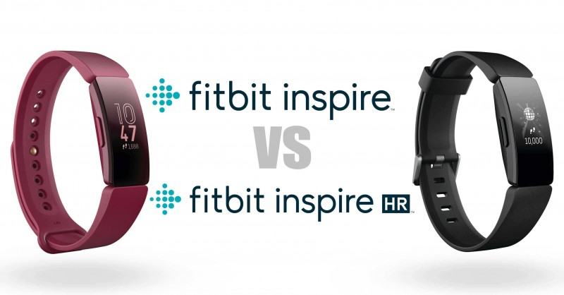 Fitbit Inspire vs. Inspire HR - Where's the difference?