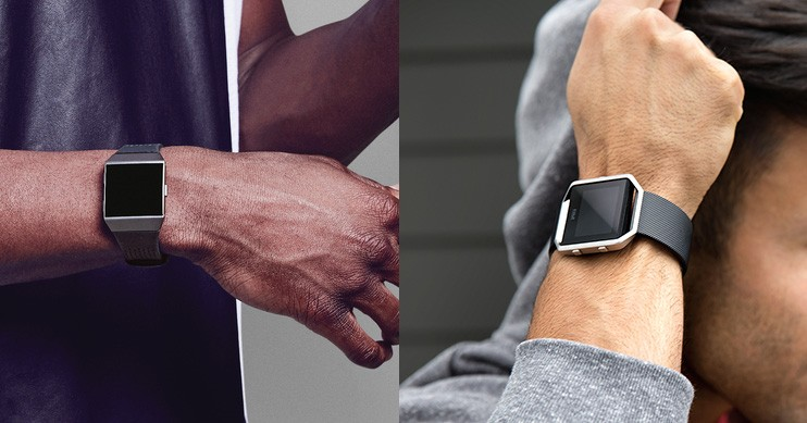 Fitbit Ionic vs Blaze