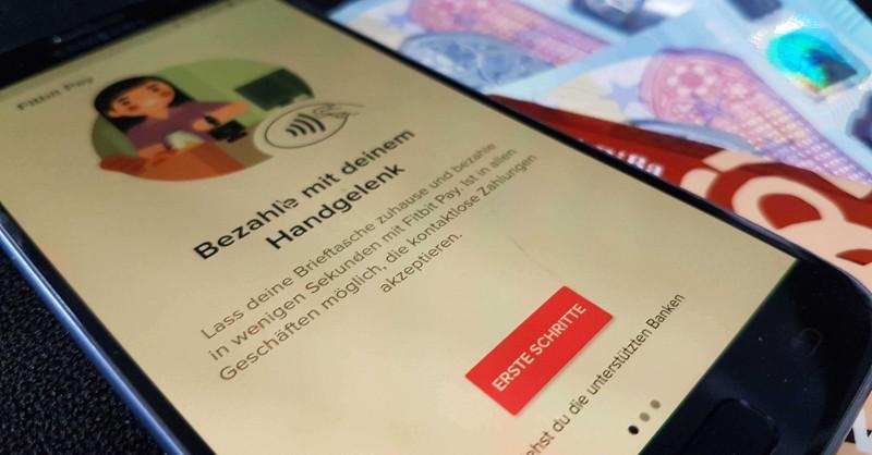 Fitbit Pay einrichten - Banken, PayPal und Probleme