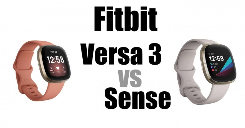Fitbit Versa 3 vs Sense - Which one is better?