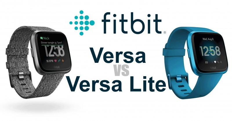 Fitbit Versa vs Versa Lite - What ist the difference?
