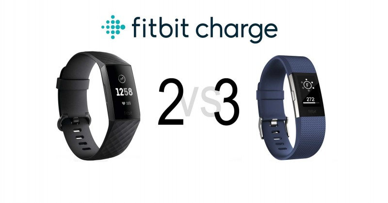 Fitbit Charge 2 vs Charge 3 - The Tracker in Comparison