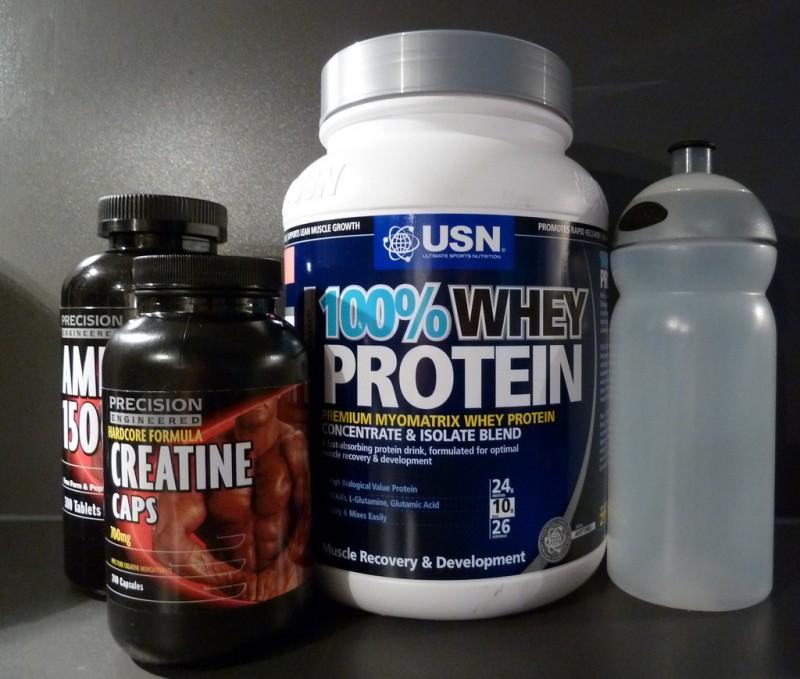 Muskelaufbau auch ohne Proteinshakes