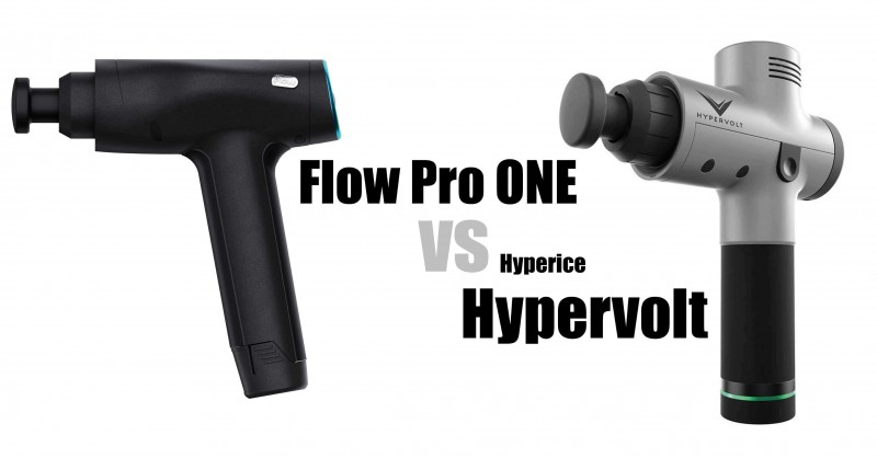 Flow Pro ONE vs Hyperice Hypervolt - Where are the differences?