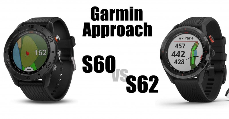 Garmin Approach S60 vs S62 - Wo sind die Unterschiede?