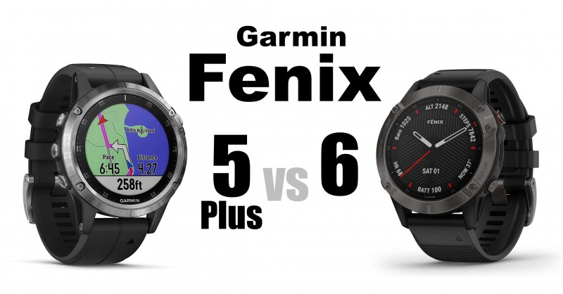 Garmin Fenix 5 Plus vs Fenix 6 - Where are the differences?