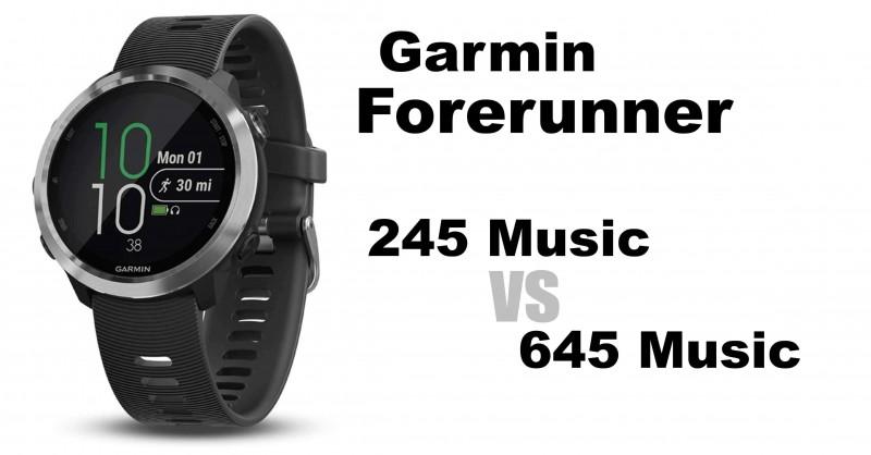 Garmin Forerunner 245 Music vs Forerunner 645 Music - Der Vergleich!