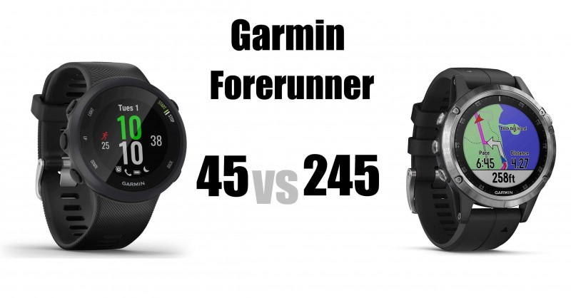Garmin Forerunner 24 vs 245 - What are the differences?
