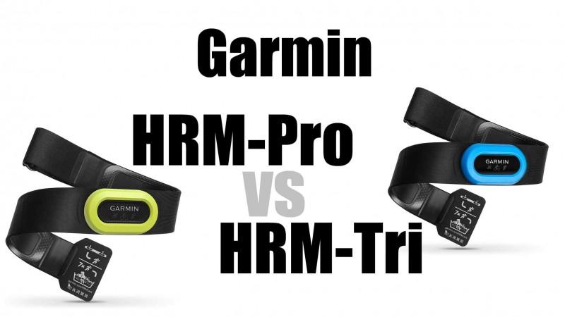 Garmin HRM Pro vs Tri - Wo sind die Unterschiede?