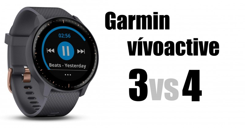 Garmin vivoactive 3 vs 4 - Dove sono le differenze?
