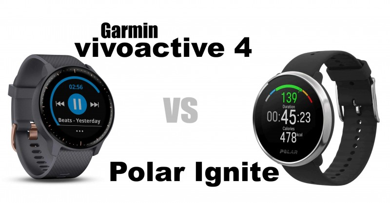Garmin Vivoactive 4 vs Polar Ignite - Which one is better?