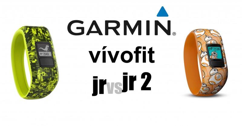 Garmin vivofit jr vs jr 2 im Vergleich - Wo ist der Unterschied?