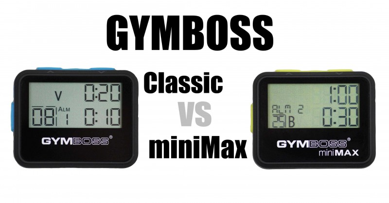 Gmyboss Classic vs miniMax - What is the difference?