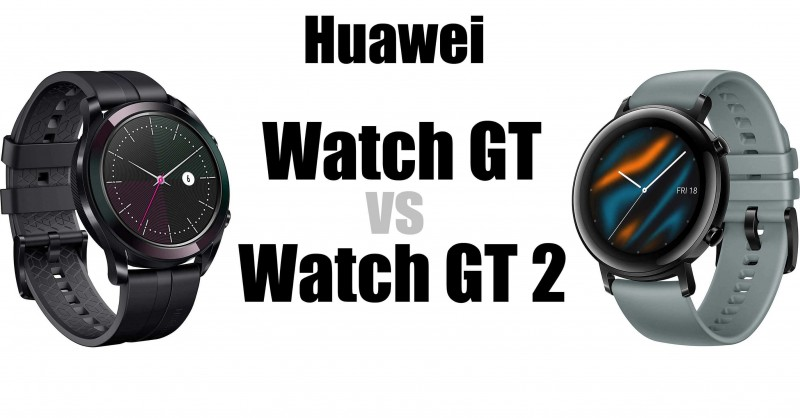 Huawei Watch GT vs GT 2 - Dove sono le differenze?