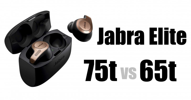 Jabra Elite 75t vs Elite 65t - Where are the differences?