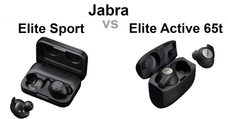 Jabra Elite Sport vs Active 65t - Wo sind die Unterschiede?