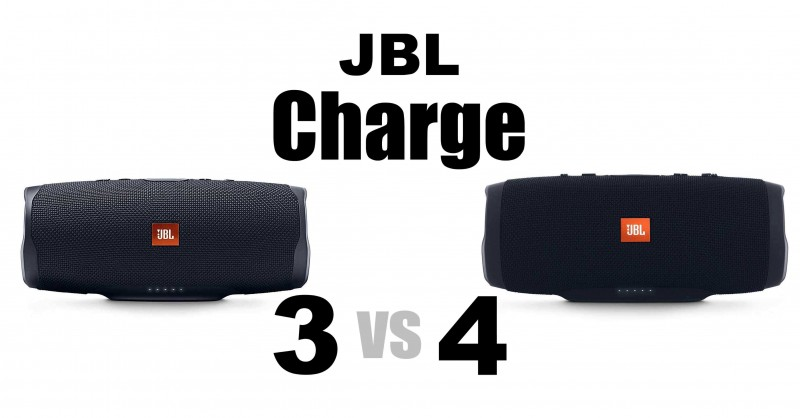 JBL Charge 3 vs 4 - Where are the differences?