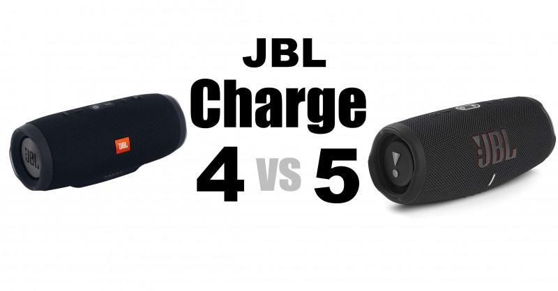 JBL Charge 4 vs 5 - Wo sind die Unterschiede?