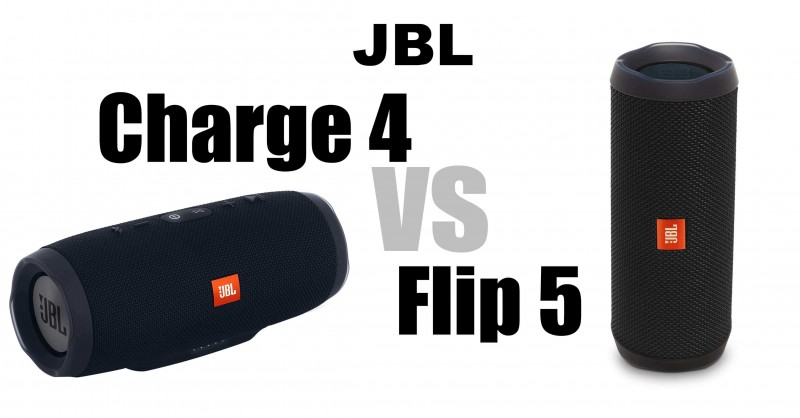 JBL Charge 4 vs JBL Flip 5 - What are the differences?
