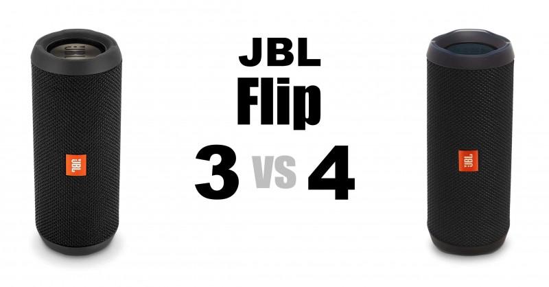JBL Flip 3 vs 4 - Wo sind die Unterschiede?
