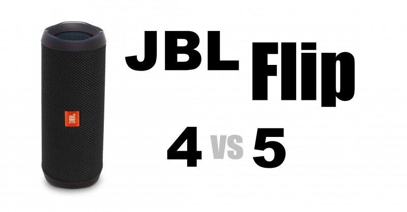 JBL Flip 4 vs 5 - Where are the differences?