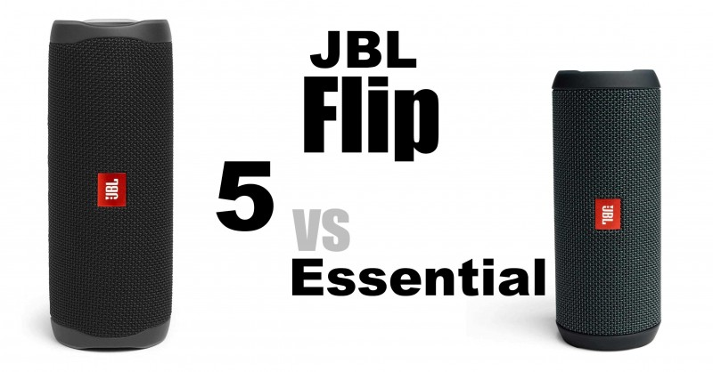 JBL Flip 5 vs Essential - Where are the differences?