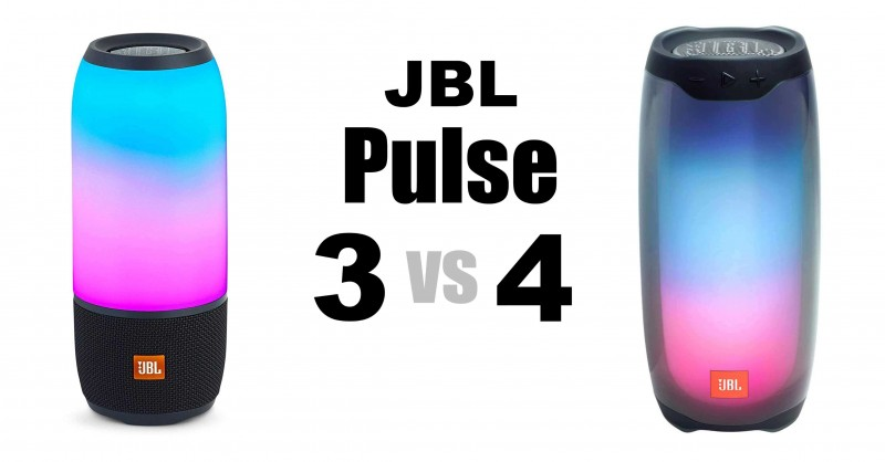 JBL Pulse 3 vs 4 - Where are the differences?