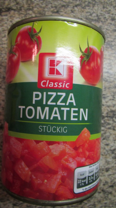 k classic kaufland pizza tomaten st ckig kalorien. Black Bedroom Furniture Sets. Home Design Ideas
