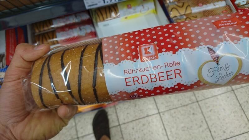 K Classic Kaufland Ruhrkuchen Rolle Erdbeer Kalorien
