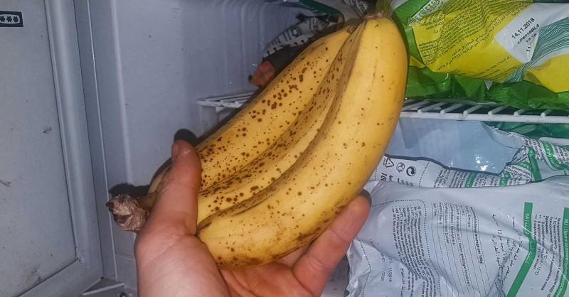 Kann man Bananen einfrieren?