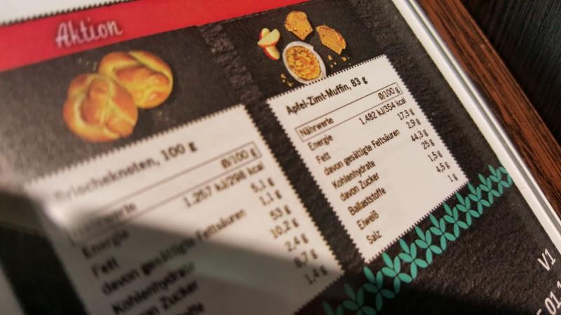 Lidl Apfel Zimt Muffin Kalorien Nährwerte Produktdaten
