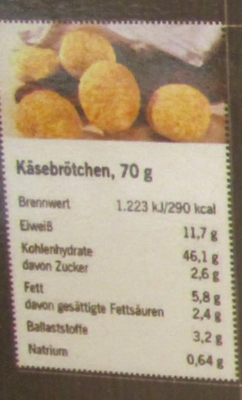 Käsebrötchen Lidl