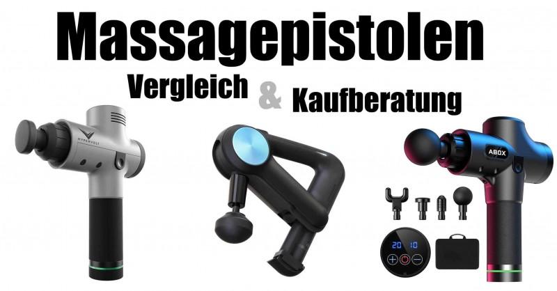 Massagepistolen im Vergleich - Welche ist die Beste?