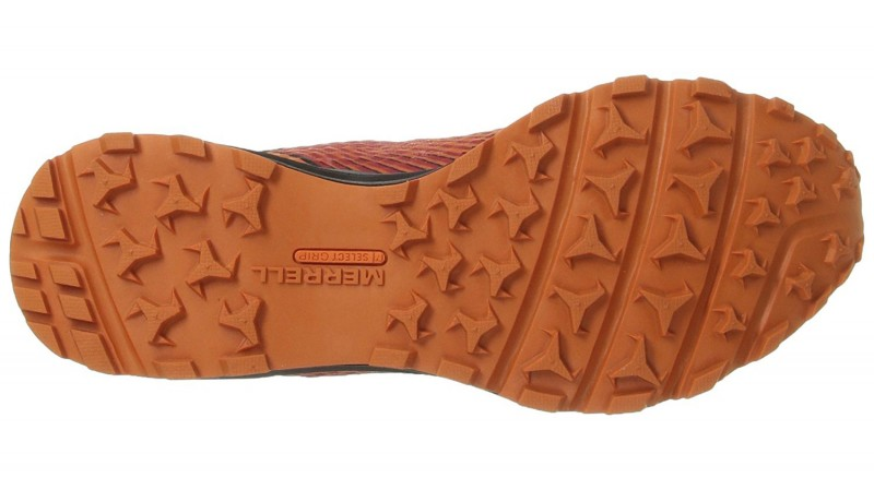 Die Sohle des Merrell All Out Crush