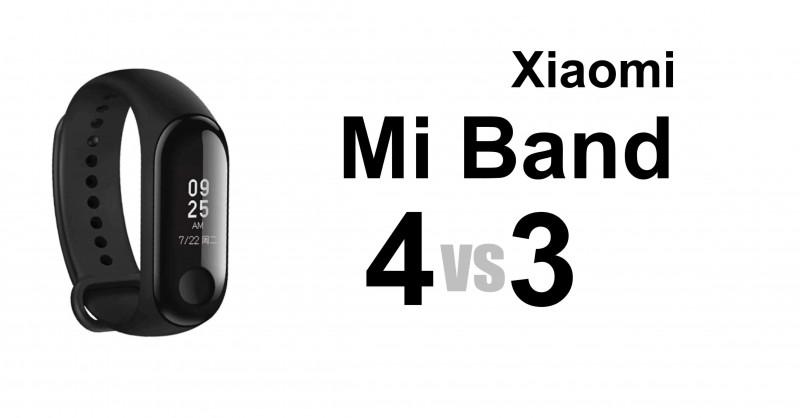 Xiaomi Mi Band 4 vs 3 - Where are the differences?