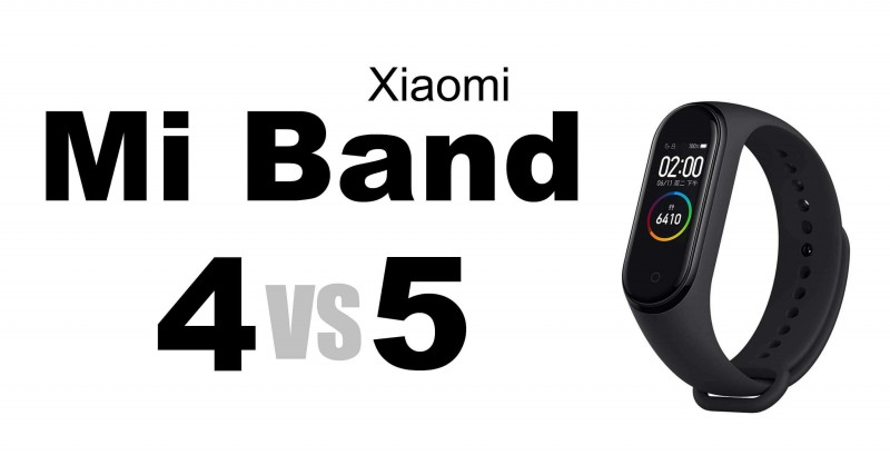 Mi Band 4 vs 5 - Where are the differences?