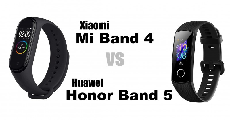 Xiaomi Mi Band 4 vs Honor Band 5 - Quale è meglio?