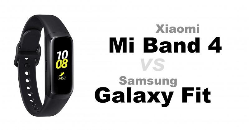 Xiaomi Mi Band 4 vs Samsung Galaxy Fit & Fit e - Welcher ist besser?