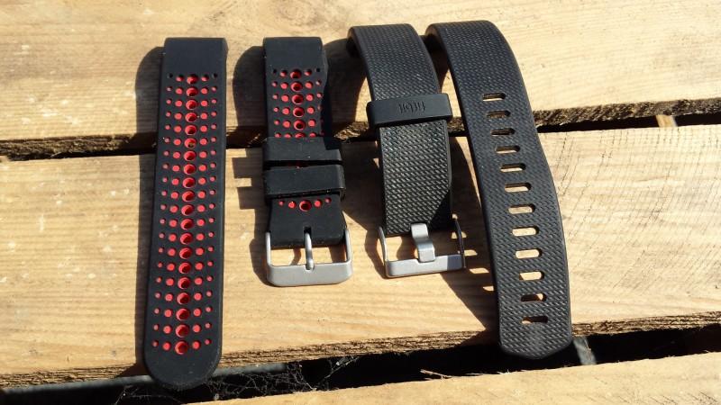 Das Armband von MoKo ist kürzer, als das von Fibit