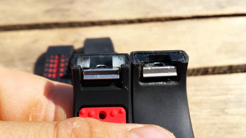 MoKo setzt auf die identische Technik beim Klickverschluss wie Fitbit