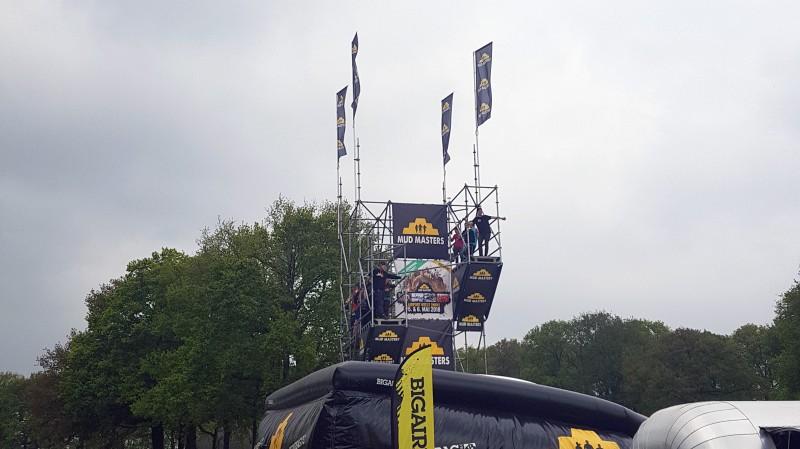 Sprungturm mit 3 und 5 Meter Höhe