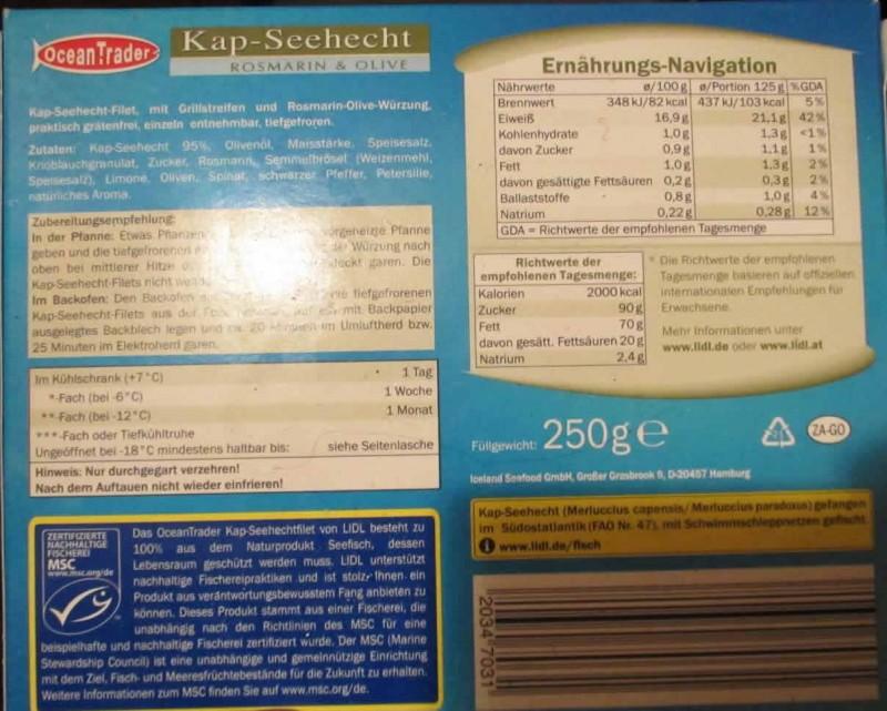 Kap Seehecht